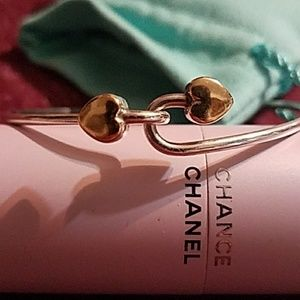 Tiffany & Co. Double gold  heart bracelet